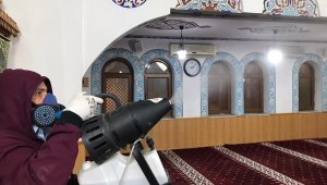 Malatya'da camilere ücretsiz dezenfekte