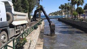 Marmaris Sümbül deresi temizleniyor