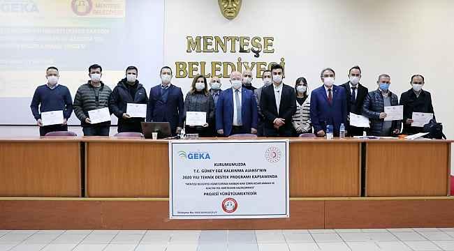 Menteşe Belediyesi personeline Karbon Ayak İzi eğitimi