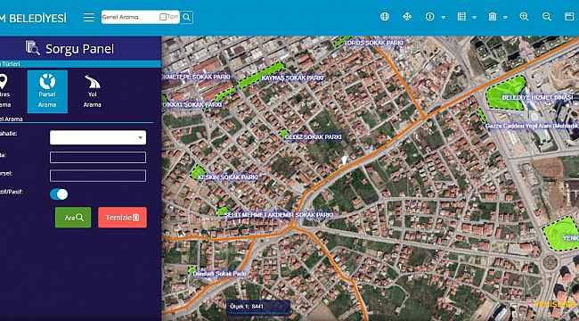Meram'da imar durumu bilgileri artık internette