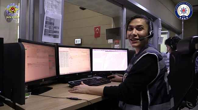 Mersin polisi, 112'nin önemini kliple anlattı