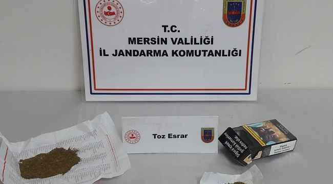 Mersin'de uyuşturucu operasyonu: 10 gözaltı