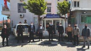MHP Datça İlçe Yönetimi polislerin kuruluş yıldönümünü kutladı