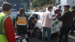 Milas - Bodrum karayolunda zincirleme kaza