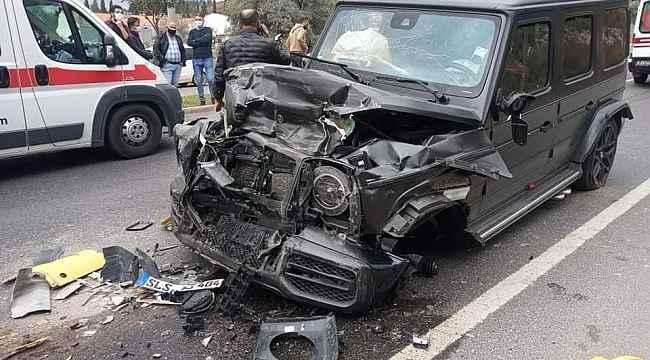 Milas'ta lüks cip karşı şeride geçti: 3 yaralı