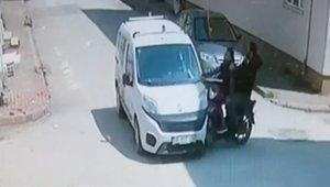 Motosikletteki gençlerin kazası - Bursa Haberleri