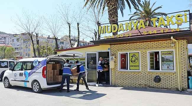 Mudanya Belediyesi şoför esnafıyla dayanışma içinde - Bursa Haberleri
