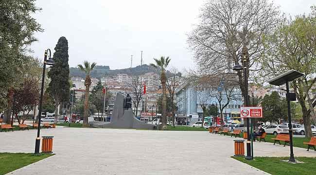 Mudanya'daki parklar güneş enerjisiyle aydınlatılıyor - Bursa Haberleri