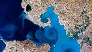 NASA'nın fotoğraf şampiyonu: Van Gölü