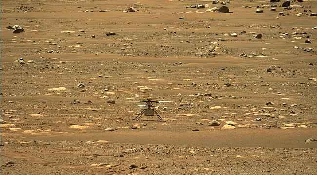NASA'nın Mars helikopteri Ingenuity ilk uçuşunu yarın gerçekleştirebilir