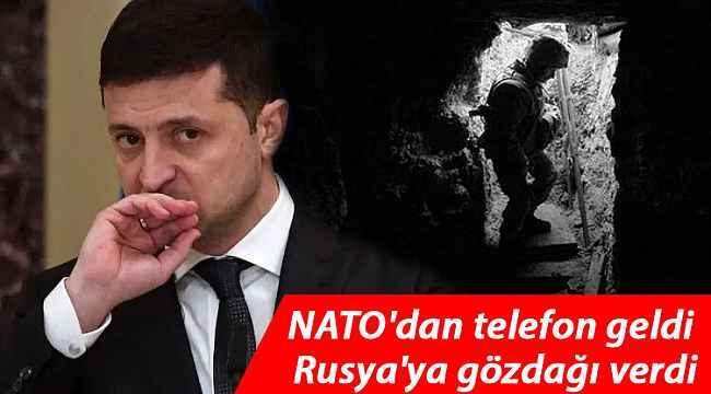 NATO'da Ukrayna'ya desteğinin açıkladı