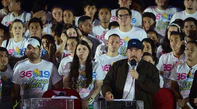 Nikaragua Devlet Başkanı'nın aile saadeti... Karısı yardımcısı, 8 çocuğu ise danışman
