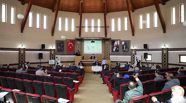 Nisan ayı meclis toplantısı yapıldı - Bursa Haberleri