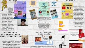 Öğretmen Elçin Çağlar'dan çocuklara matematiği sevdirecek proje