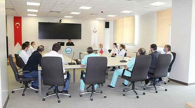 Pandemi kurul toplantısı düzenlendi