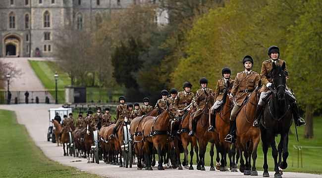 Prens Philip'in yarınki cenaze töreni için hazırlıklar sürüyor