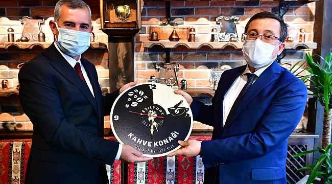Rektör Kızılay'dan Yeşilyurt Belediyesi'nin kültür yatırımlarına tam not