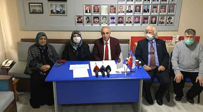 Şehit ailelerinden 104 emekli amirale tepki