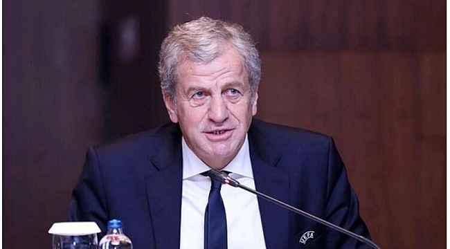 Servet Yardımcı yeniden UEFA Yönetin Kurulu'na seçildi