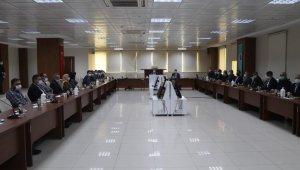 Siirt Valisi Hacıbektaşoğlu, STK temsilcileri ile bir araya geldi