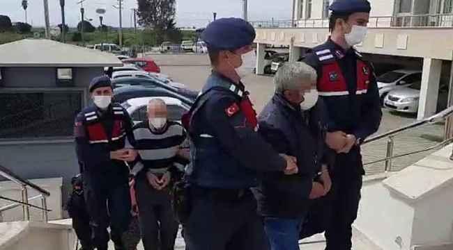 Silifke'deki kıskançlık cinayetinin zanlıları tutuklandı