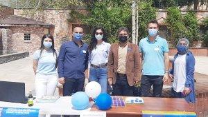 Silvan'da Rehberlik Araştırma Merkezi tarafından otizm standı açıldı