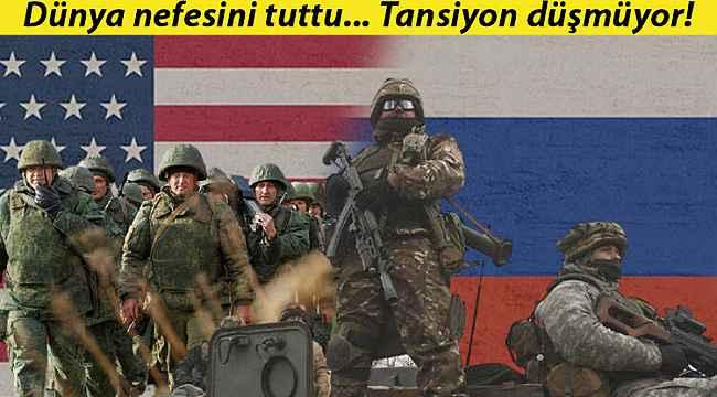 Sınırda tansiyon düşmüyor... ABD'den Rusya'ya çağrı