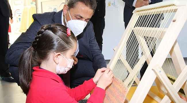 Sinop'ta minikler için tasarım beceri atolyeleri açıldı