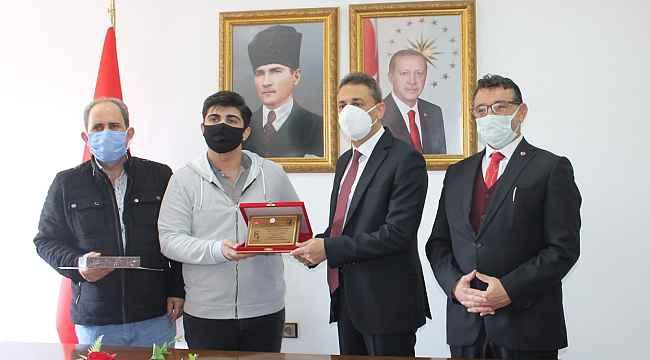 Sinoplu Türkiye birincisi ödülünü aldı