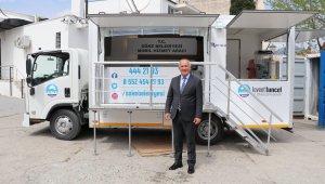 Söke Belediyesi Mobil Hizmet Aracı ve Deprem Konteynırı hizmete hazır