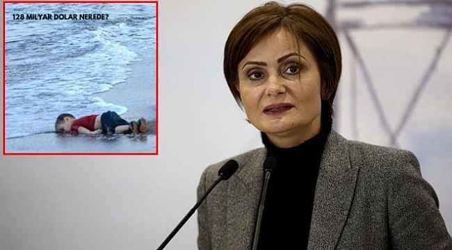 Sözün bittiği yer... Kaftancoğlu'nun 128 milyar dolar paylaşımını Aylan bebeğin fotoğrafıyla yaptı