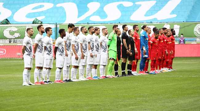Süper Lig: Konyaspor: 0 - Kayserispor: 0