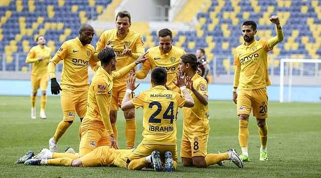 Süper Lig: MKE Ankaragücü: 2 Gençlerbirliği: 1