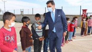 Şurkav sosyal sorumluluk projesi kapsamında Güzelköy Okulunda