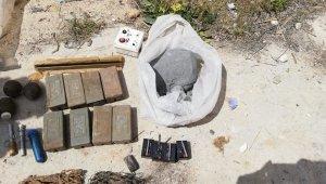 Telabyad'da İsrail yapımı patlayıcılar ele geçirildi