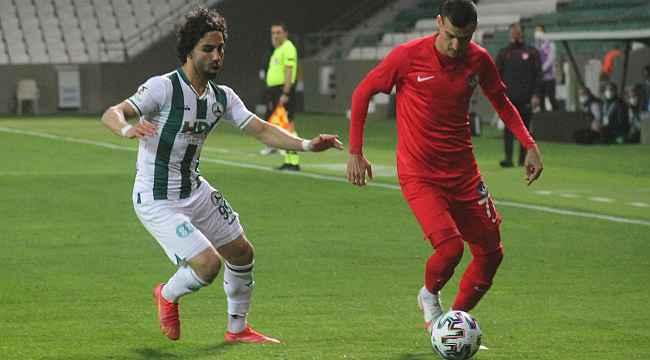 TFF 1. Lig: GZT Giresunspor: 1 - Ankara Keçiörengücü: 1