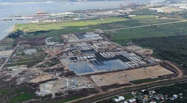 TOGG inşaatı hızla yükseliyor, büyük proje canlı yayında izlenecek - Bursa Haberleri