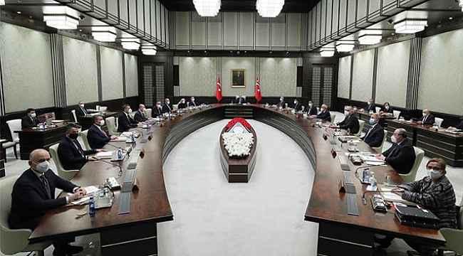 Tüm Türkiye'nin gözünü çevirdiği Kabine toplantısı başladı