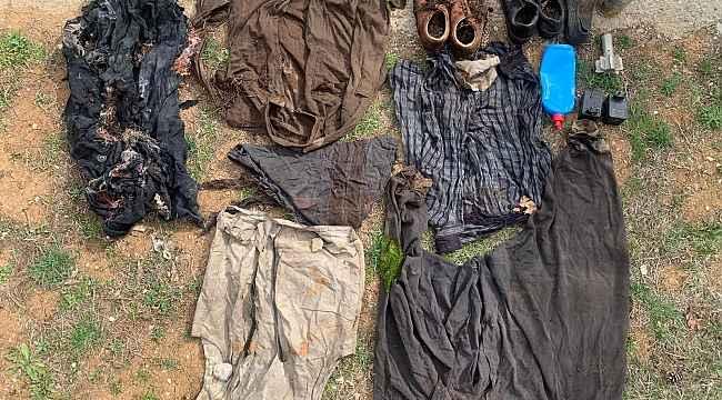 Tunceli'deki Eren-7 operasyonunda 4 sığınak imha edildi