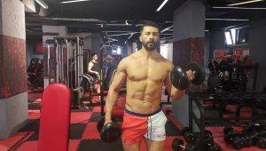 Türkiye vücut geliştirme şampiyonun hedefi İspanya