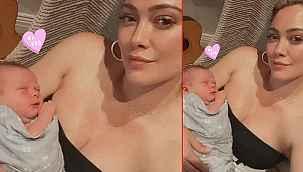 """Üçüncü bebeğini doğuran şarkıcı, """"Bebek emzirmek ne zor geldi bana"""""""