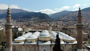 Ulu Cami'ye Ramazan mahyası asıldı - Bursa Haberleri