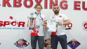 Uluslararası Türkiye Açık Kick Boks Avrupa Kupası'nda Zonguldak'lı sporcu şampiyon oldu
