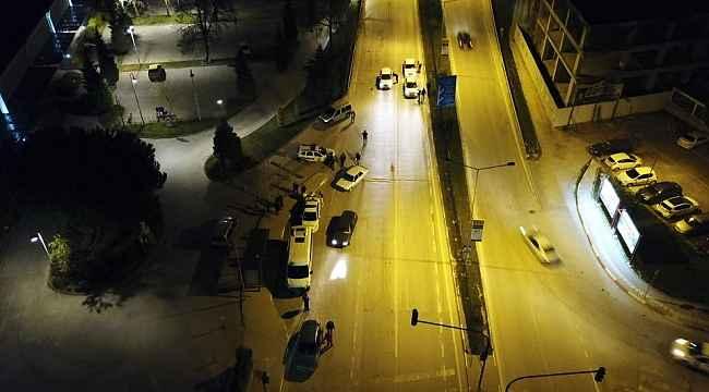 Uygulama havadan görüntülendi, Sokağa çıkma yasağına uymayanlara 61 bin TL ceza - Bursa Haberleri
