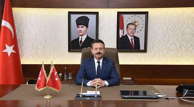 Vali Aksoy, polis teşkilatının kuruluş yıldönümünü kutladı
