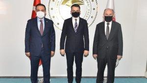 Vali Karadeniz, Ankara'da çeşitli temaslarda bulundu