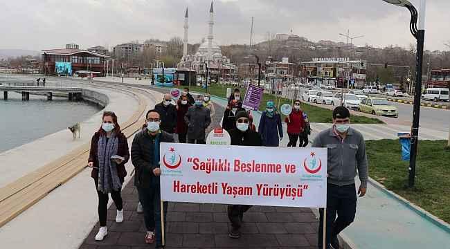 Van'da 'Kalp Sağlığı' yürüyüşü
