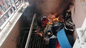 Yangın duyarlı vatandaş ve itfaiye tarafından büyümeden söndürüldü