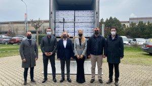 Yardım kolileri DOSAB'dan yola çıktı - Bursa Haberleri