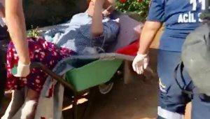 112 çalışanlarının hasta kurtarma mücadelesi